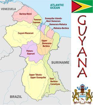 Guyana divisions