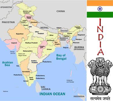 India divisions