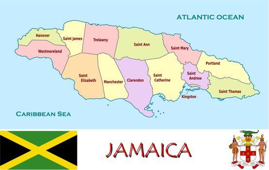 Jamaica divisions