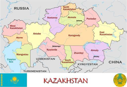 Kazakhstan divisions