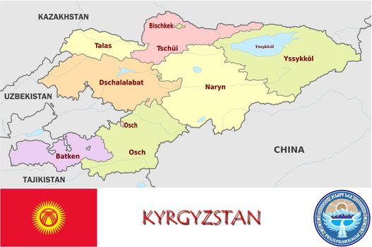 Kyrgyzstan divisions