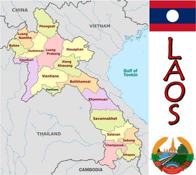 Laos divisions