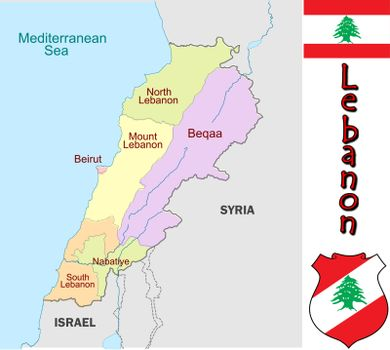 Lebanon divisions