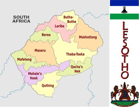 Lesotho divisions