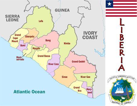 Liberia divisions