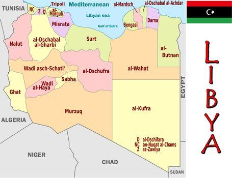 Libya divisions