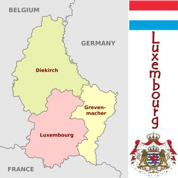 Luxembourg divisions