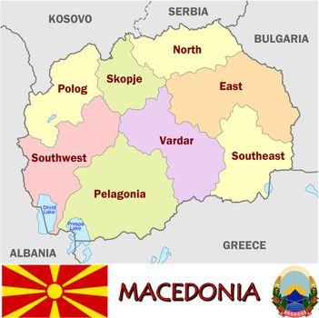 Macedonia divisions