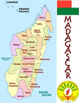 Madagascar divisions