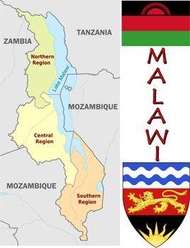 Malawi divisions