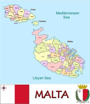 Malta divisions