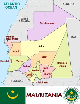 Mauritania divisions