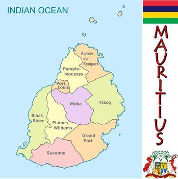Mauritius divisions