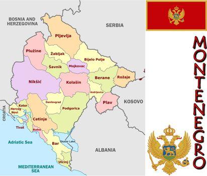 Montenegro divisions