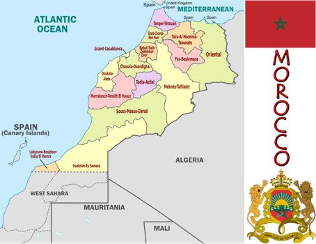 Morocco divisions