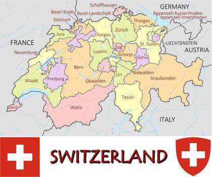 Switzerland divisions