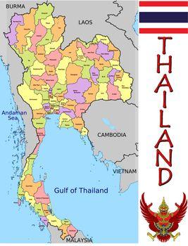 Thailand divisions