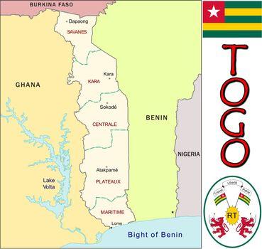 Togo divisions