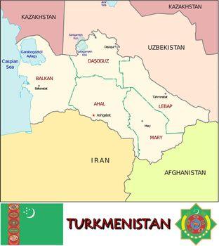 Turkmenistan divisions
