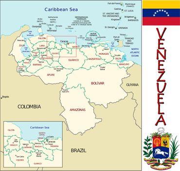 Venezuela divisions
