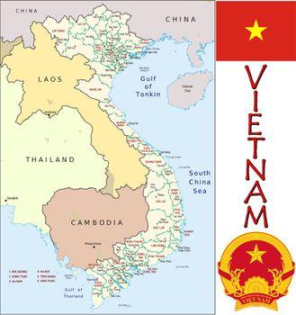 Vietnam divisions