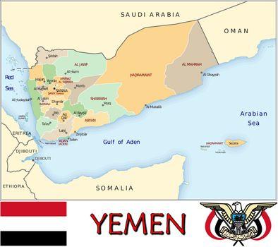 Yemen divisions