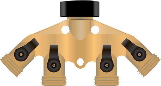 Brass collector