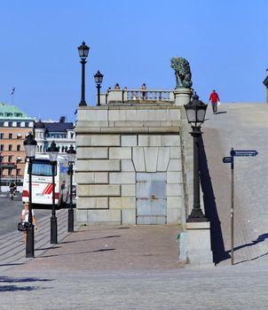 walk in Stockholm