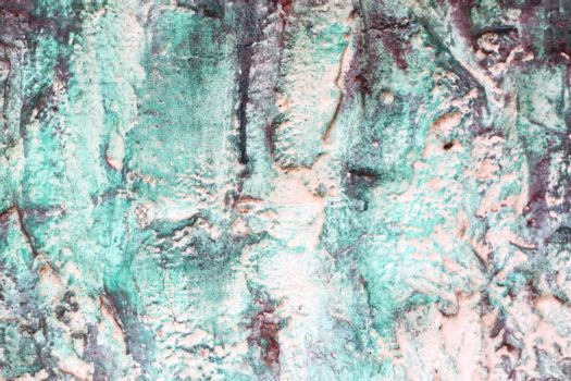 Green pattern on Chinese temple wall for the art background.