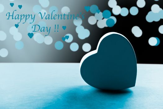 Blue Valentine's Day Card