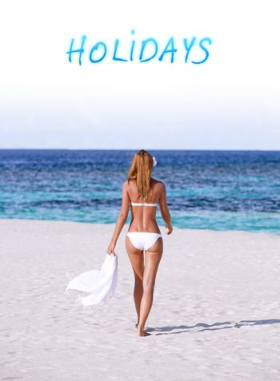 Summer holidays on the beach