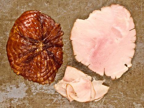 rustic ham end