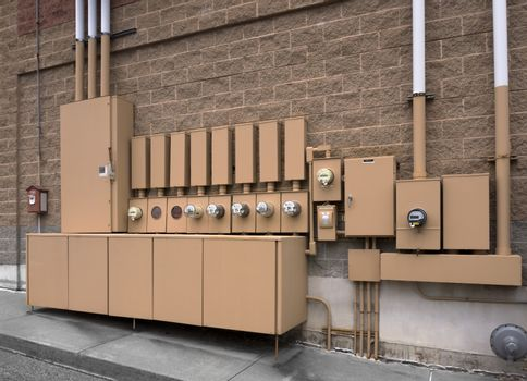 Electrical panels or boxes