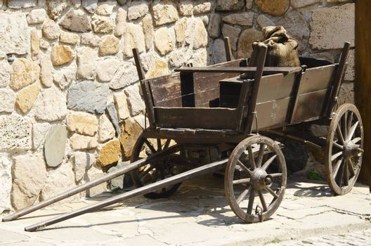 Photo of the Vintage Wooden Dray