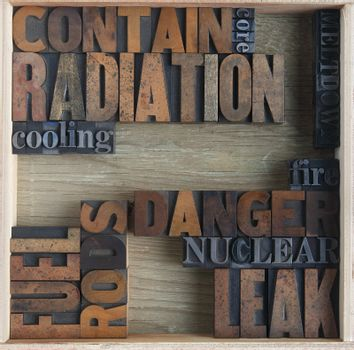 words related to nuclear accidents