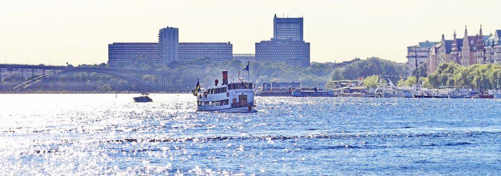 boat,walk in Stockholm
