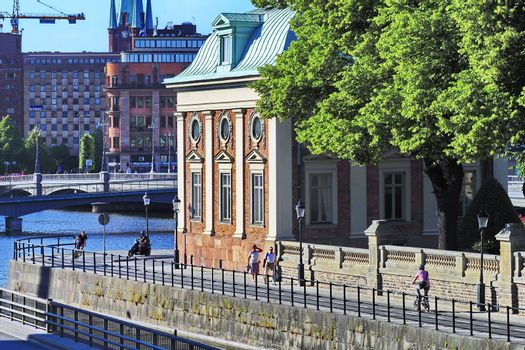 architecture of the Stockholm