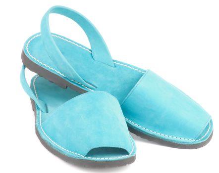 Turquoise Sandals Avarcas