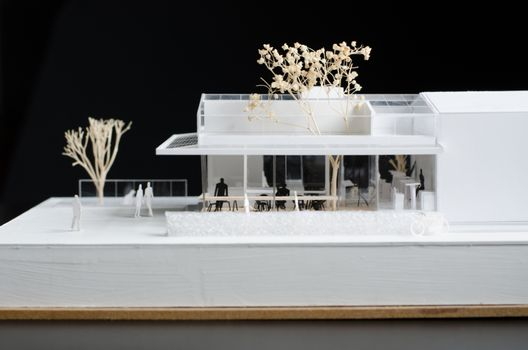 Elevation of Architectural model