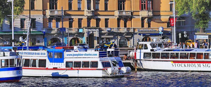 city pier, Stockholm