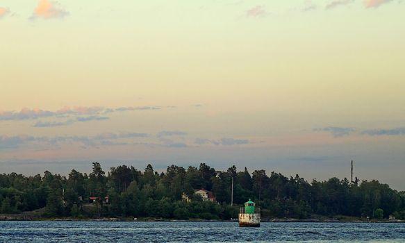 buoy, fairway