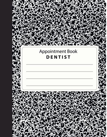 Book appointments dental office to organize the reception of patients. Vector illustration.