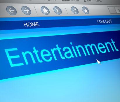 Entertainment concept.