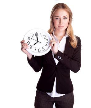 Discipline and punctual concept