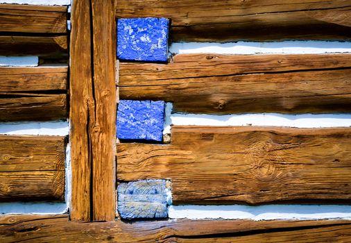 beams log cabin