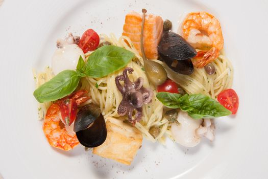 Pasta with sea food
