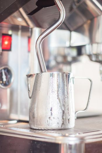 Pitcher for steaming milk