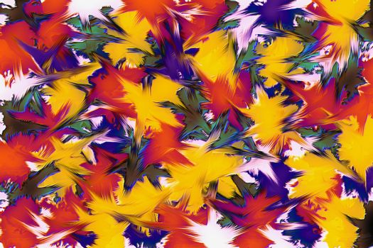 Colorful abstract art background with texture