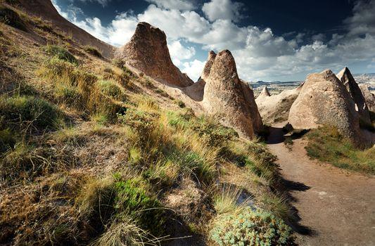 Rock formations of Cappadocia
