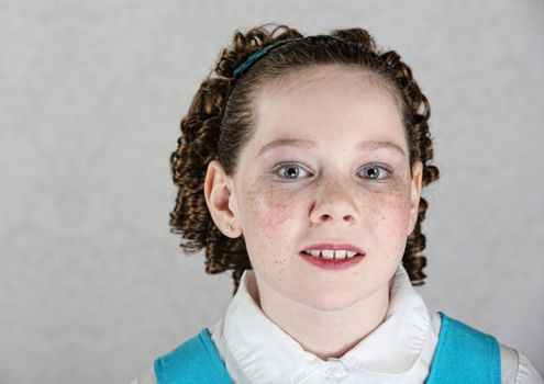 Close Up of Irish Child